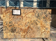 Rainforest Brown Marble Slab