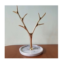Tree Type Marble Jewelry Display Stand