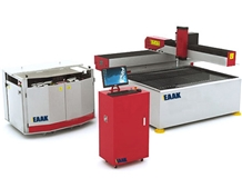 China Eaak Water Jet Cutting Machine