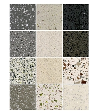 Multicolor Terrazzo Tiles Mixed Coior Interior