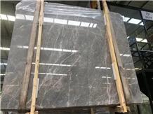 Hermes Grey Marble Slab,Silver Grey Marble Tile