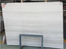 Athen Grey Marble White Wood Grain Vein Marble