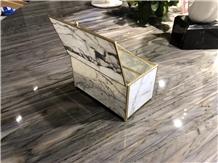 Huitou Factory Custom Cheap Marble Jewelry Case