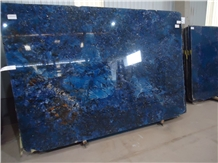Agatha Blue Exotic Granite Slabs Tiles