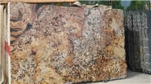 Mascarello Persa Exotic Slabs Tiles, Mascarello Gold Granite