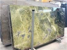 Verde Tifone Marble Slabs, Iran Green Marble