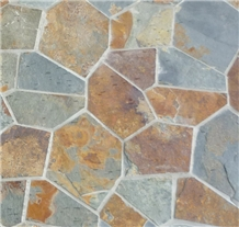 Rusty Slate, Multi-Color Rusty Slate Flagstone