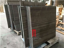 Grey Wood Marble Thin Venner Panel with Aluminum