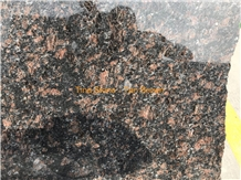 Tan Brown Granite Polished Wall Slabs Floor Tiles