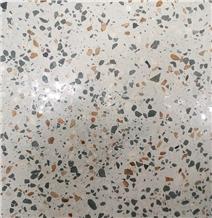 Indonesia Greeny White Terrazzo Tile