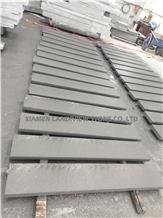 Flamed Black Sandstone Pool Deck Tile