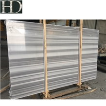 Marmara Equator White Marble Olympic Grey Slabs
