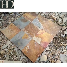 Slate Slabs,Rusty Slabs Use for Floor,Paving Othes