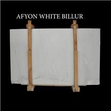 Afyon White Marble Slabs, Afyon Grey Marble Slabs