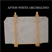 Afyon White Marble Slabs