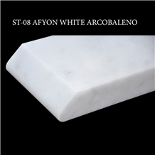 Afyon White Marble Stair
