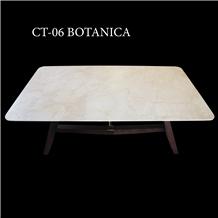Beige Marble Coffee Table