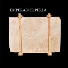 Emperador Perla Turkish Beige Marble Slabs