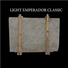 Light Emperador Classic Turkish Beige Marble Slabs