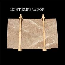 Light Emperador Turkish Beige Marble Slabs