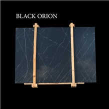Nero Marquino, Black Orion Marble Slabs