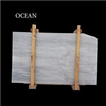Ocean White Marble Slabs