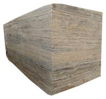 Royal Blend Silver Travertine Blocks