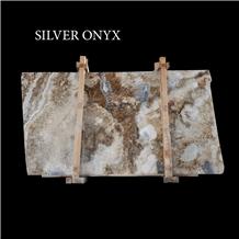 Silver Onyx Slabs