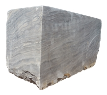 Silver Travertine Vein Cut Blocks