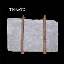 Tigrato White, Bianco Leopard Marble Slabs