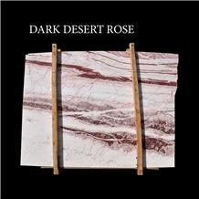 White Onyx, Dark Desert Rose Onyx Slabs
