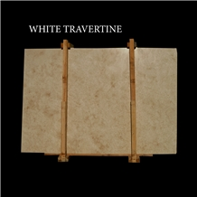 White Travertine, Light Travertine Cross Cut Slabs