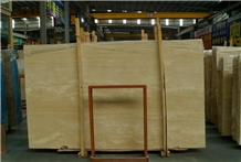 Classic Beige Travertine Slabs