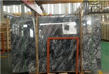 Classic Black Agate Big Marble Slabs Floor Tiles