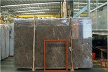 New Turkish Ash Marble Big Slab Wall Tiles