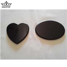 Laser Engraving Tile Have Heart Shaped & Ovel Ect