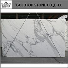Natural Chinese White Calacatta Statuario Marble