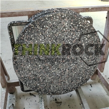 Artificial Black Terrazzo Honeycomb Table Tops