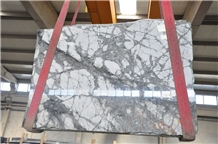 Invisible Gray Marble Slabs, Iceberg Blue Marble