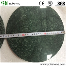 Dark Green/Honed Natural Marble Trays for Kitchen