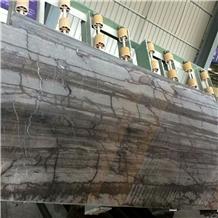 Da Vinci Brown Marble Wooden Veins Slabs