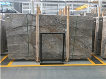 Marble Stone Florence Grey Slabs&Tiles Polished