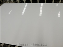 Pure White Artificial Stone Marble Slabs