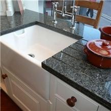 Nero Impala Granite Kitchen Countertop