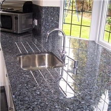 Norway Blue Pearl-Scale Kitchen Countertop Worktop