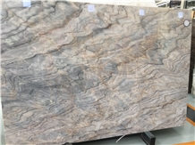 Polished Rome Impression Lafi Blue Marble Slab
