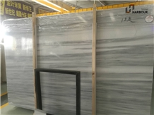 Chinese Victoria Grey Marble, Silver Gray Snow Ash