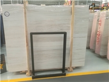 Eurasian White Wood Marble Floor&Wall&Tiles&Slabs