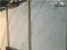 Jazz White Marble, Volakas White Marble Slab