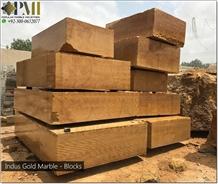 Indus Gold Marble Blocks